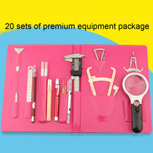 Beauty Measuring Instrument Kit Double Eyelid Designer Nasal Meter Beautician Consult Pac