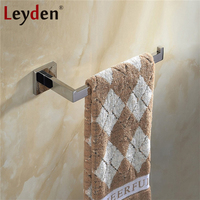 Leyden High Quality Bathroom Lavatory Towel Ring 304SUS Stainless Steel Wall Mount ORB Brushed Nickel Chrome