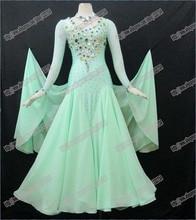 Modern Waltz Tango Ballroom Dance Dress, Smooth Ballroom Dress, Standard Ballroom Dress social dance clohting girl