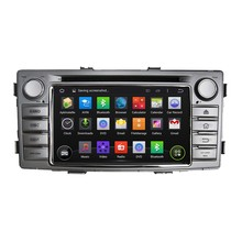 "7"" Quad Core 2 Din Android 5.1.1 car head unit DVD Automotivo For Toyota Hilux 2012-2014 Car Stereo DVD GPS Navigation"