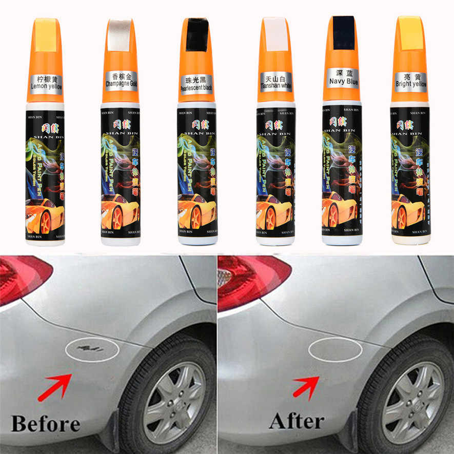 Colors Auto Car Coat Paint Pen Touch Up Scratch Clear Repair Remover Remove Tool Multiple High quality and durable l0416