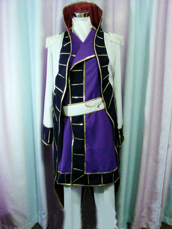 Costumes & Accessories Men's Costumes The Best Anime Code Geass Cosplay Clothing-code Geass Cosplay Schneizel El Britannia Cosplay Costume Mens Party Costume Free Shipping Beautiful In Colour