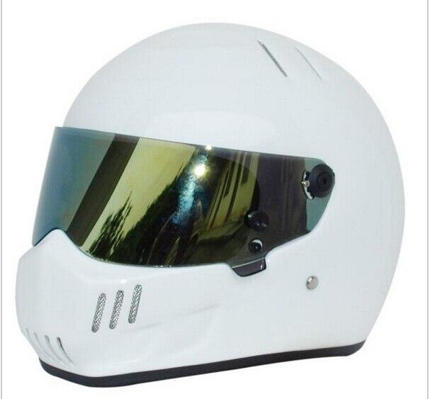 2016 New CRG carting Motorcycle full face glass fiber reinforced plastic helmet ATV-6 Stig SIMPSON Star Wars pig capacete DOT
