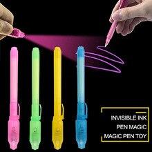 Волшебная ручка светящиеся игрушки светится в темноте 2 в 1 чернильная ручка Новинка Забавные светящиеся игрушки для детей и взрослых
