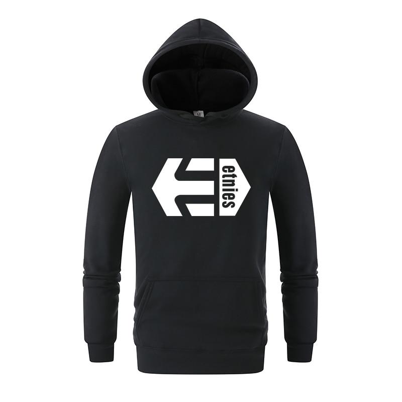 2018 Neue Mode Herren Etnies Hoodie Herren Grafik Sweatshirt Kühlen Skateboard Kapuzen Mantel Kühlen Street Hip Hop Lustige Hoodie Herrenbekleidung & Zubehör