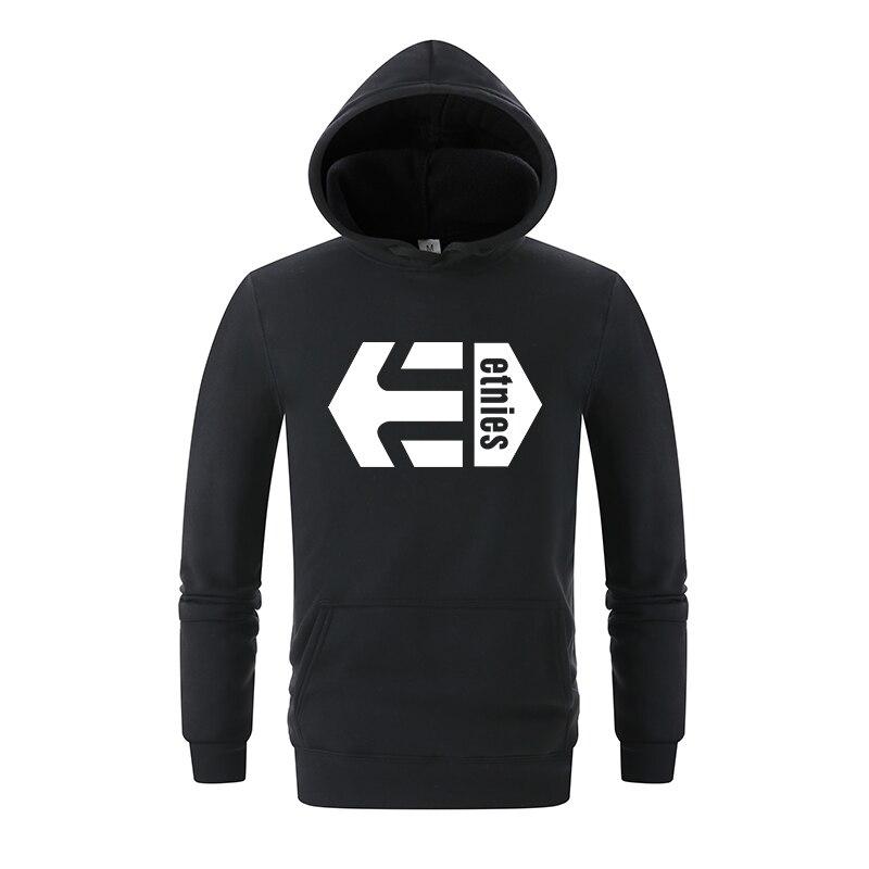2018 nueva moda para hombre para Etnies Sudadera con capucha para hombre  sudadera gráfico genial patineta 30c7eb3a036