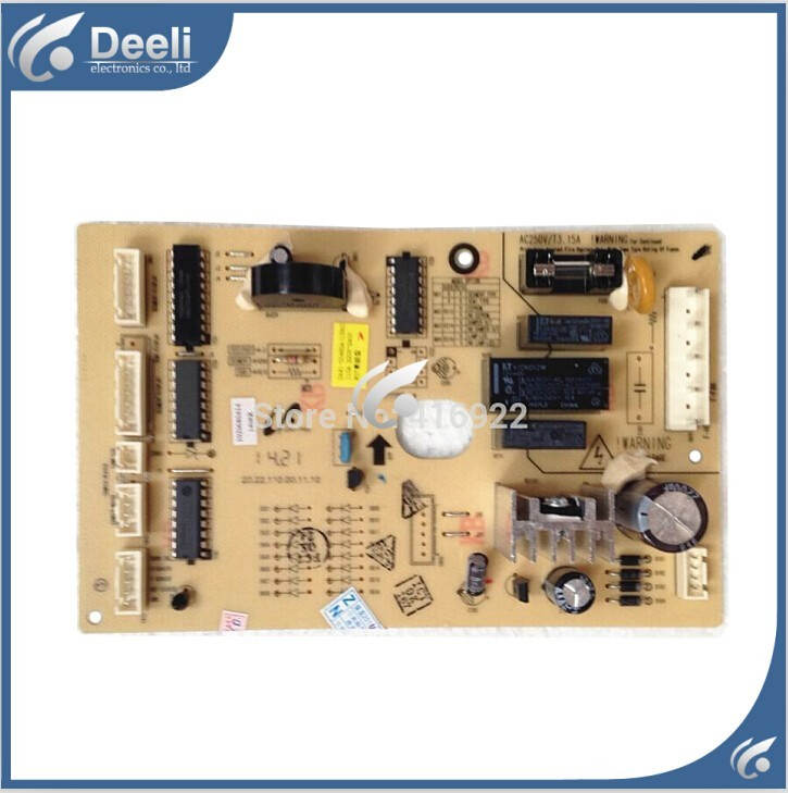 good working used board for refrigerator computer board power module DA41-00482A BCD-285WNLVS/B board control board computer board wd n90105 6870er9001 used
