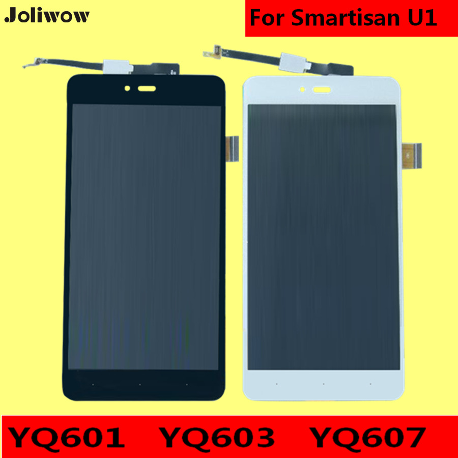For Smartisan U1 YQ601 YQ603 YQ607 LCD Display Touch Screen tools Digitizer Assembly font b Smartphone