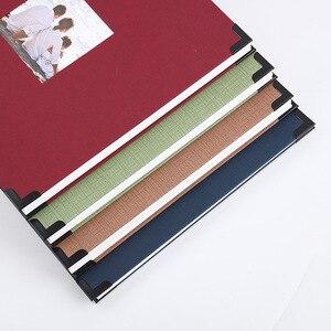Image 2 - Película autoadhesiva DIY foto de libro de recuerdos álbum regalos del Día de San Valentín invitados de boda artesanía de libros papel aniversario recuerdo de viaje álbum
