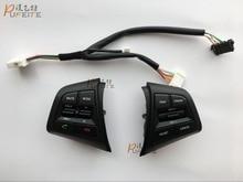 Многофункциональный Пульт Дистанционного Управления Кнопки Для Hyundai ix25 1.6L Руль Круиз-Контроль Кнопки стайлинга автомобилей