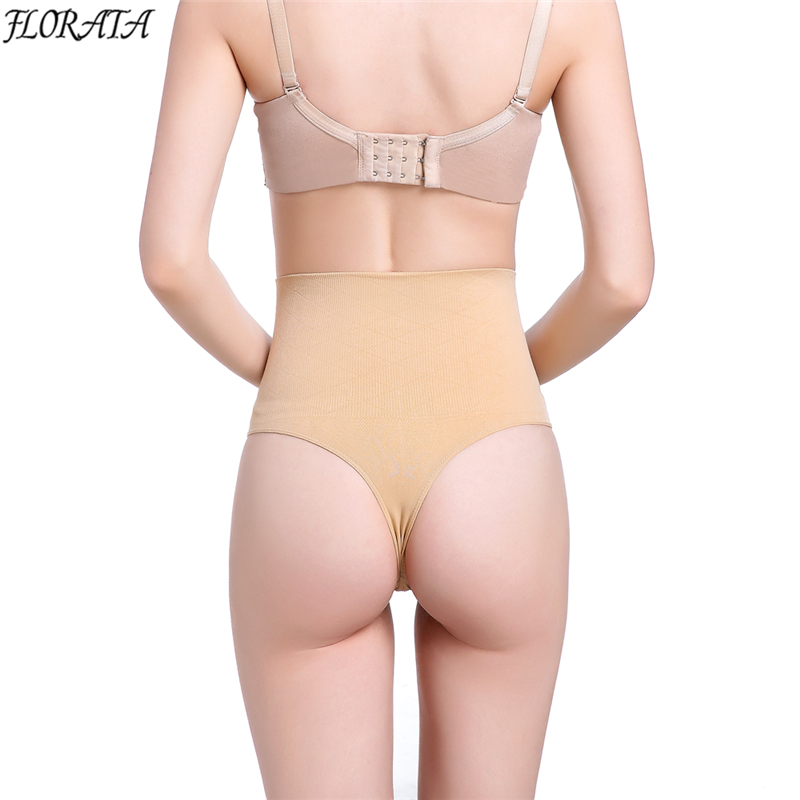 New Sexy Women Body Shaper Panty Seamless Booty Butt Lifter Panties High Waist G String Thong Panties Tummy Trimmer Underwear