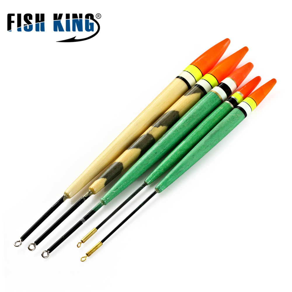 FISH KING Float Float 5pcs / Lot Planul Float 3g 4g 5g 6g 12g Lungime - Pescuit