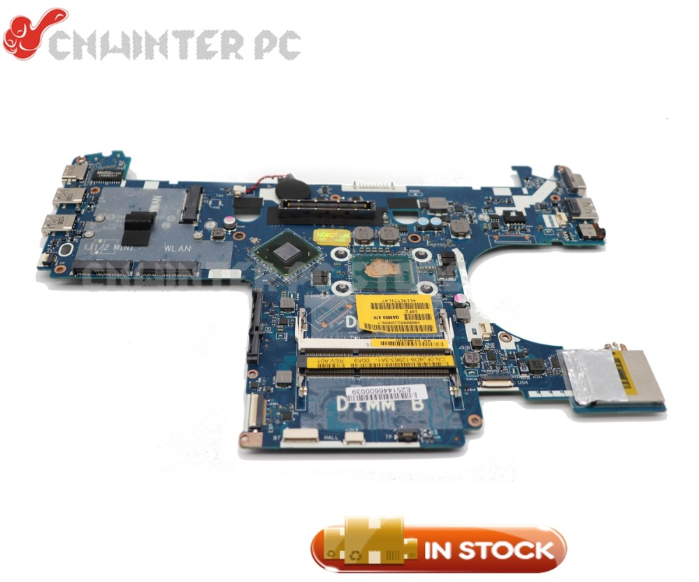 NOKOTION For Dell Latitude E6230 Laptop Motherboard <font><b>I5</b></font>-<font><b>3320M</b></font> CPU DDR3 QAM00 LA-7731P CN-0FJ4D9 0FJ4D9 MAIN BOARD image