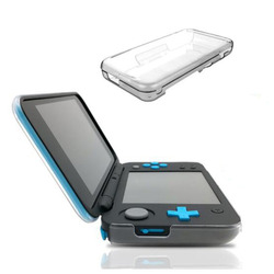 Clear PC Hard Case Protective Cover Shell for Nintend New 2DS XL/LL 2DSXL 2DSLL Crystal Transparent full Body Protector Guard