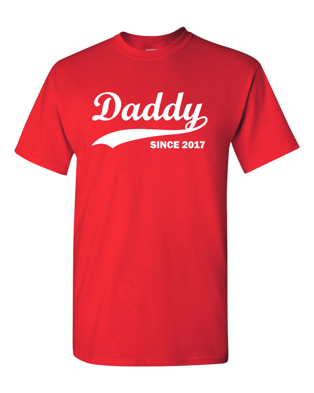 4c765d056 Daddy Since 2017 Fathers Day Gift Baby Shower Reunion Dad Men's Tee T Shirt  2017 Short Sleeve Cotton T Shirts Man Clothing-in T-Shirts from Men's  Clothing ...