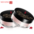 Brand Health Skin Beauty Care Natural Rose Plant Puff Makeup Concealer Loose Powder 15g Whitening Shrink Pores Oil Control
