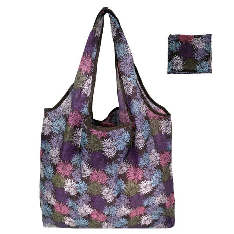 Unisex Fashionable Cute Travel Foldable Handbag Grocery Tote Storage Reusable Portable Shopping Bags