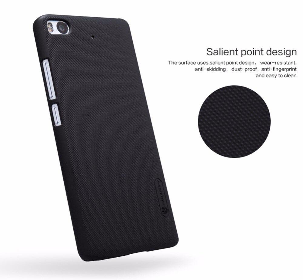 ea758ed79f53 5.15 дюймов Nillkin матовое жесткий Пластик задняя крышка для Xiaomi Mi 5S  Mi 5S чехол с Бесплатная Экран протектор mi 5S случае
