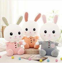 WYZHY Love rabbit plush toy doll childrens birthday gift for boys and girls pillow  70CM