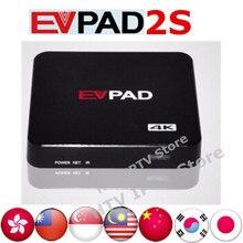 Evpad 2 s ПРОТИВ TVPAD Корейский Японский Android TV Box Бесплатно Жить Канала Азии Малайзия Сингапур HK/полный Тайвань китайский Потокового поле