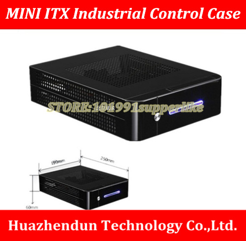 DEBROGLIE 1 set mini ITX CASE Chassis kit with power supply 120W DC board+12V External power supply 531s 540s 546s pc6038 pc6036 pc8044 for s5000 mini case power supply