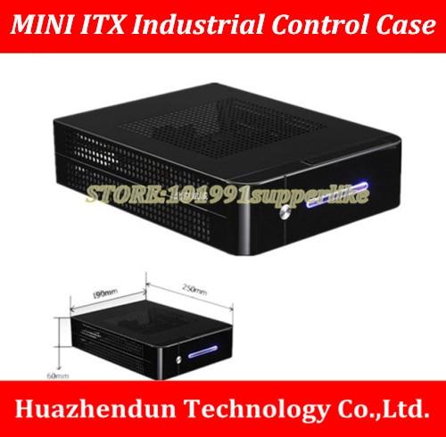 DEBROGLIE 1 set mini ITX CASE Chassis kit with power supply 120W DC board+12V External power supply цена