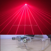 Hot Sale Red Laser Glasses With 2 Pcs Lasers For Christmas Laserman Stage Show Dance Eyewear
