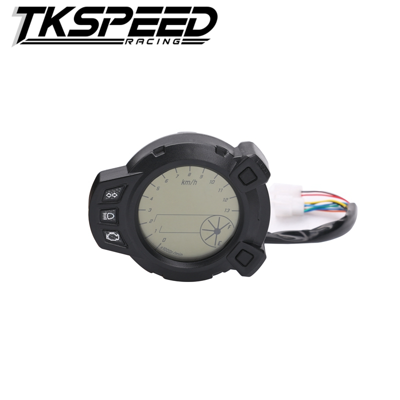 Motorcycle Instruments 10000 RMP LCD Speedometer Tachometer For Yamaha Zuma BMK X125 YW125 Speedomerter For Yamaha