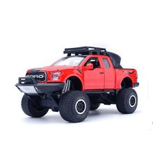 1:32 Ford Alloy Pull Back off-road car Model Toy Collection Brinquedos Vehicle Toy car For Children Gift free shipping free shipping model rocket vehicle toy is a play for children ball point performance props garage kit toys child s gift