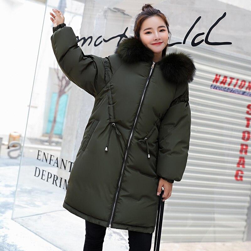 D'hiver dark 2019 Longs Vestes Beige Manteaux Automne Qualité noir Veste Parkas marron Green Porter Hiver Et Outwear army Femmes Red Supérieure SVqzMpU