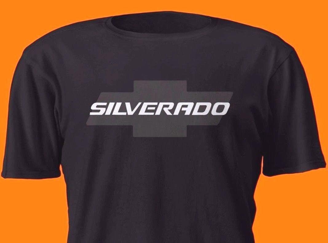 2018 summer style Fashion SILVERADO Car BLACK SHIRT CHEVY ...