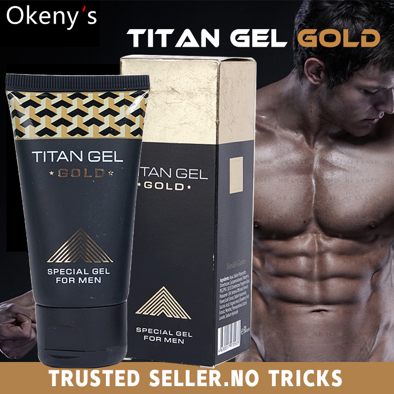 3pcs new original titan gel gold penis enlargement cream retarder