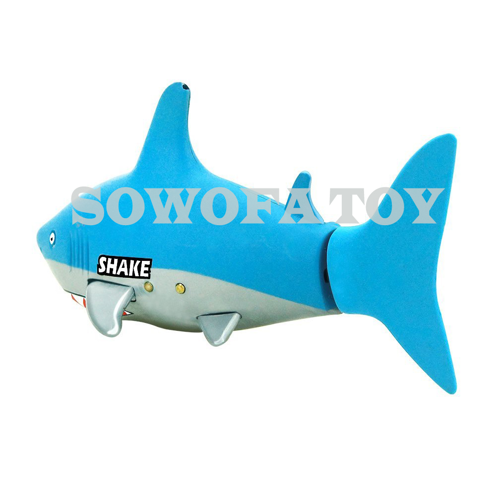Control remoto Mini RC Shark juguete electrónico Fish Ocean Animal - Juguetes con control remoto - foto 5