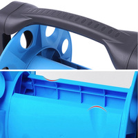 New Hot Garden Hose Reel Stand Water Pipe Storage Rack Cart Holder Bracket for 35m 1/2 Inch Hose SMD66