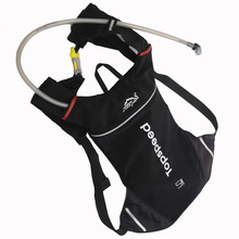 2017 Mini Bicycle Bag Cycling 5L Backpack Running Camping Outdoor Sport Hydration 2L Water Bag Black Red Color Bike Bag