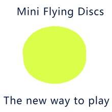Мини летающий диск фрисби новый способ играть Карманный Гибкий Мягкий Новый Спин в ловли игры Фрисби взрослый пляж открытый