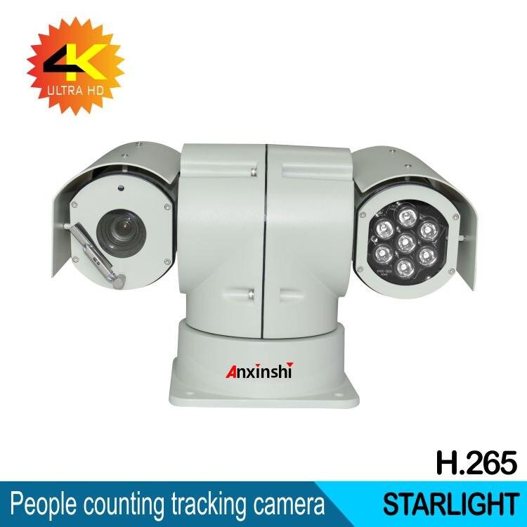 4K12MP caméra extérieure robuste ip ptz Sony CMOS 22x Zoom optique Onvif Surveillance sécurité IR 150 m IP66 caméra de véhicule d'essuie-glace