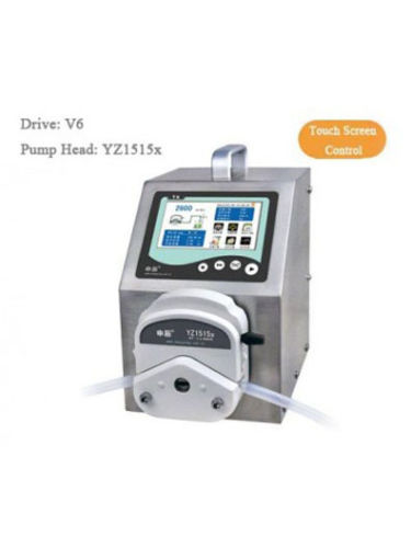 Peristaltic Pump V6 Dispensing 1 channel YZ1515x 0.007 - 2280 ml/min per channel CE Certification One Year Warranty industrial peristaltic pump n6 3l 0 211 3600 ml min 0 1 600 rpm rs485