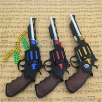 3Pcs/Pack Manual Revolver Pistola Airsoft Air Guns Toys For Children Playing Outdoor Game Armas Birthday Gifts Kids Toys