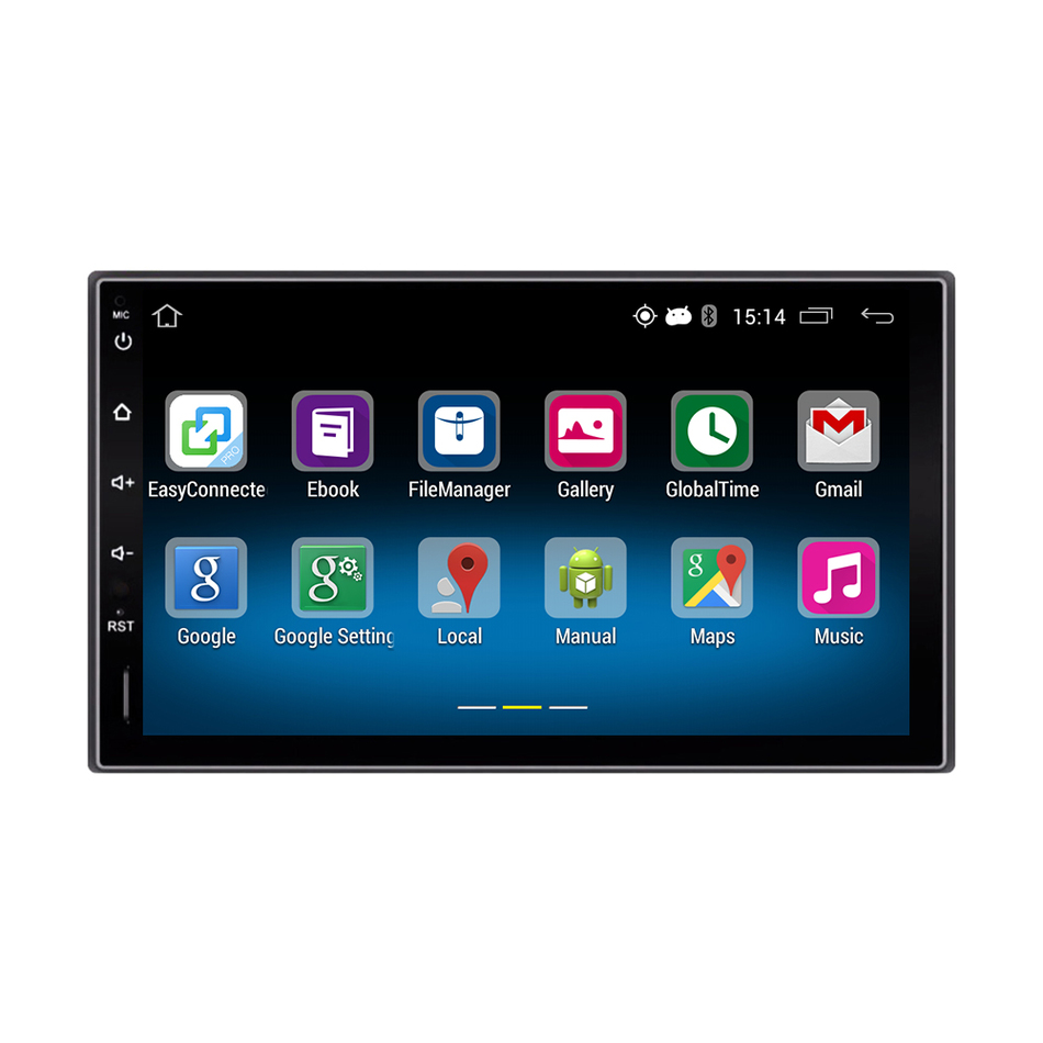 2 din 7 inch android 51 universal car dvd 1024600 car stereo radio 2 din 7 inch android 51 universal car dvd 1024600 car stereo radio for nissan ford kia hyundai gps navi bluetooth 3gwifi 1080 in car multimedia player fandeluxe Image collections