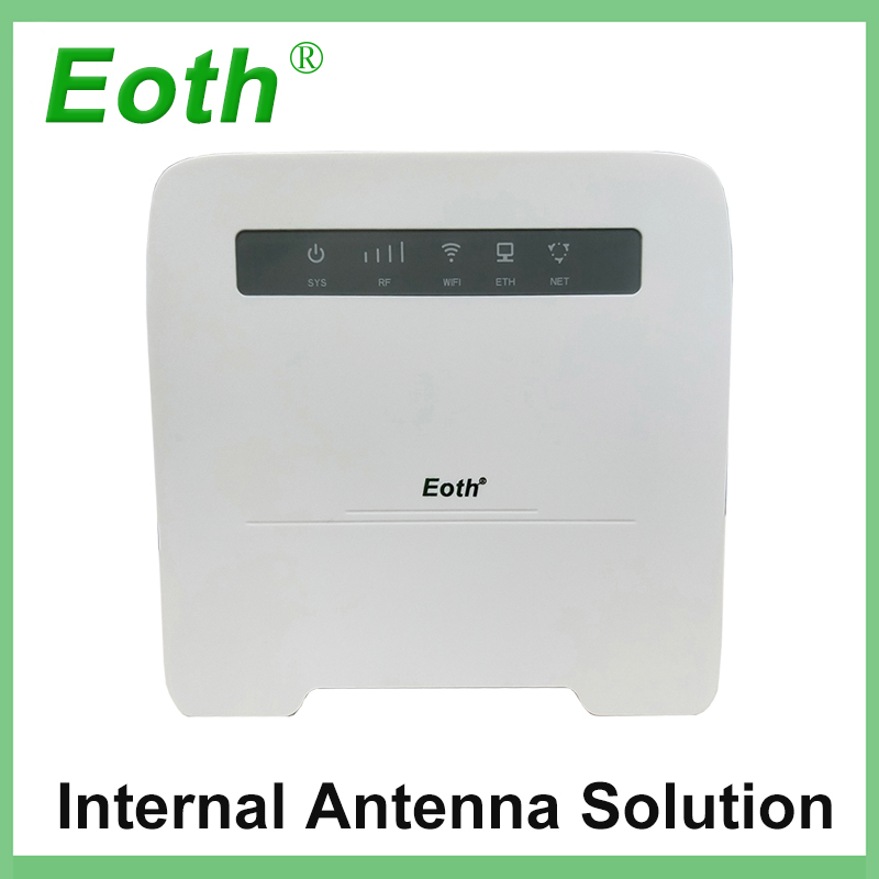 5pcs Eoth 300Mbps 4G LTE VOIP Router VOTE CPE 4G Router with inner antenna Sim Card Slot 4G LTE WiFi Router with 4 Lan Port 300mbps unlocked 4g lte cpe wireless router support sim card 4pcs antenna with lan port support up to 32 wifi users wps function
