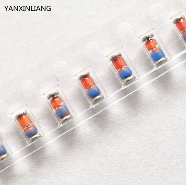 100pcs 1N4148 LL4148 SMD SMT Diode Switching Signal