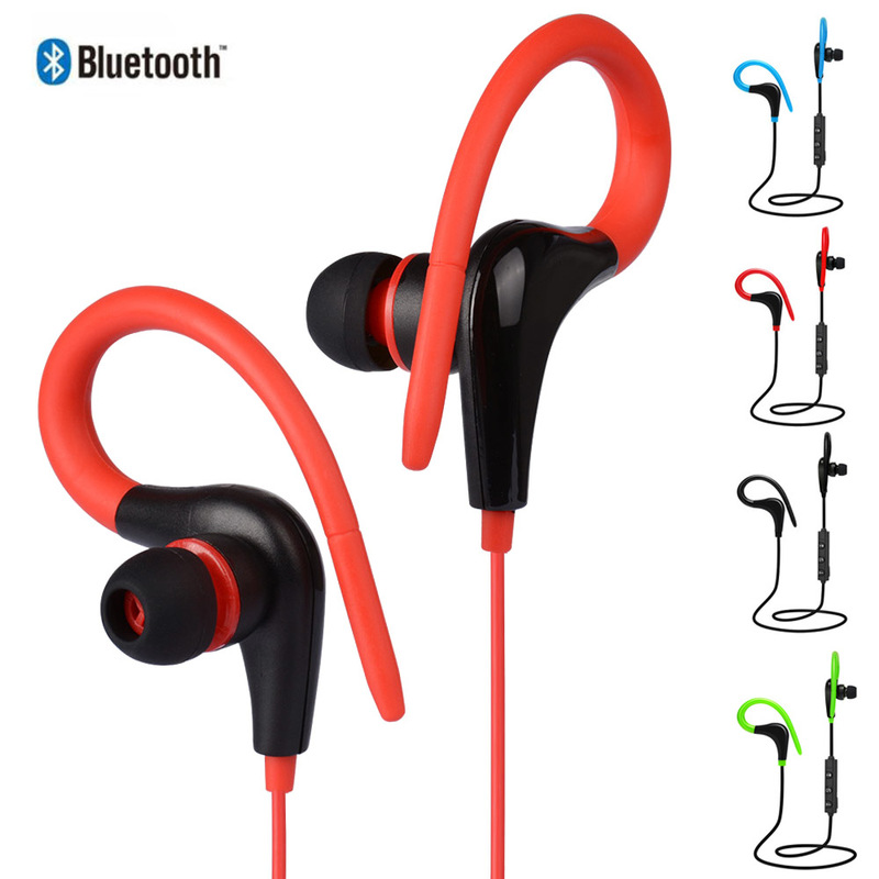 Bluetooth Earphone Sport Running Wireless Headphones Sweatproof Stereo Headsets Music Earbuds with Mic for Smartphone Xiaomi image