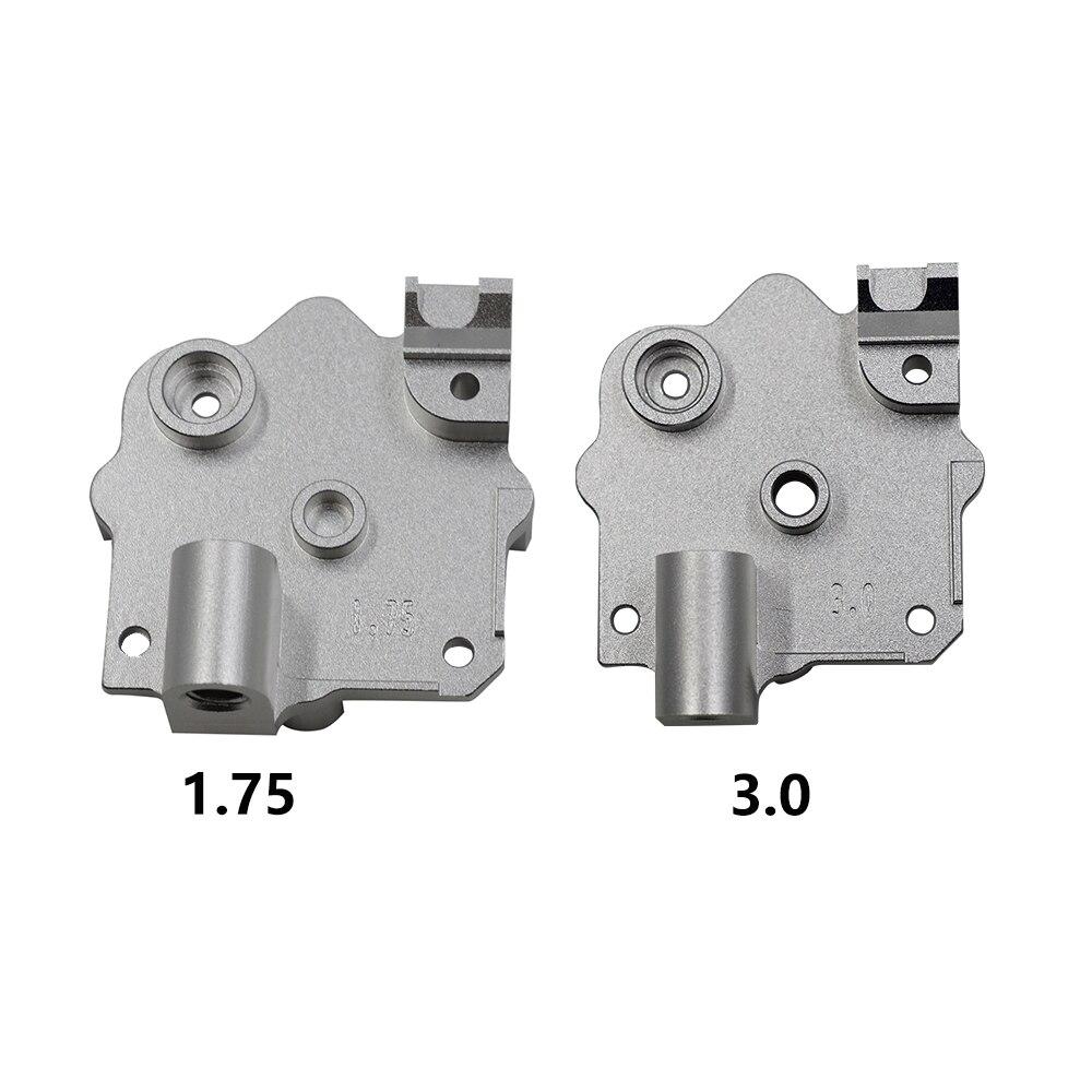 Titan Aero And V6 Aero Heatsink 1753mm Upgrade Titan Extruder e3d V6 Hotend Heat Sink For Reprap Prusa i3 3D Printer Parts
