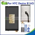 Новый Оригинальный Для HTC DESIRE 816 816G ЖК-Дисплей С Сенсорным Экраном Дигитайзер Ассамблеи Запасные Части + Инструменты