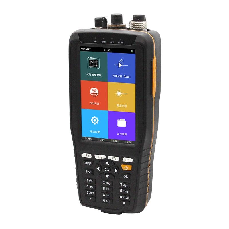 2019 nuevo TM290 Smart OTDR 1310 1550nm con pantalla táctil VFL/OPM/OLS reflectómetro de dominio de tiempo óptico OTDR