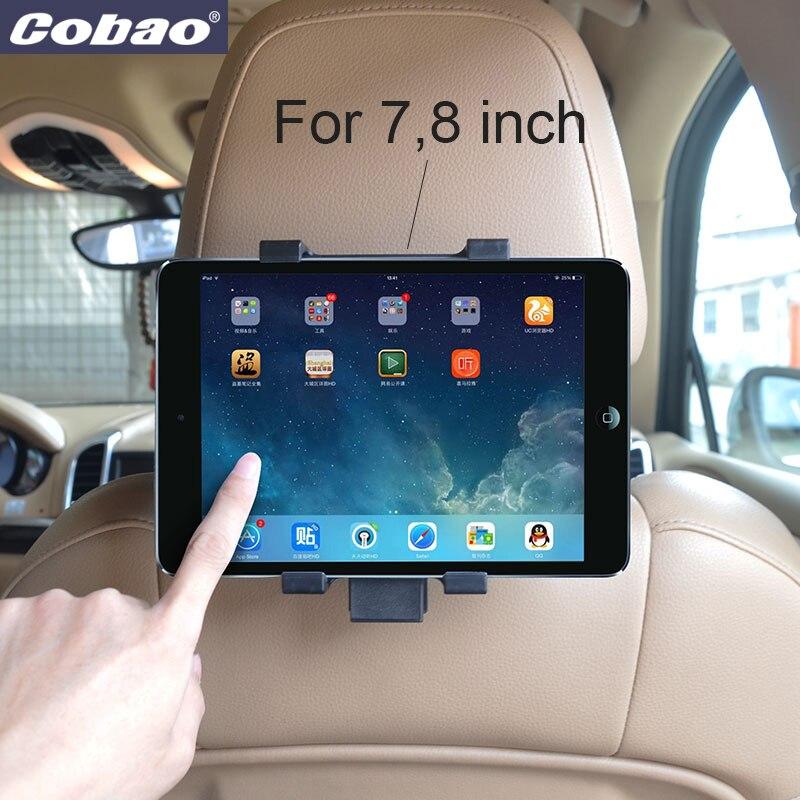 יוניברסל לרכב מחשב הלוח האחורי לעמוד 7 7 אינץ 'לרכב במושב האחורי במושב מתאים 7.9 אינץ' מיני Ipad