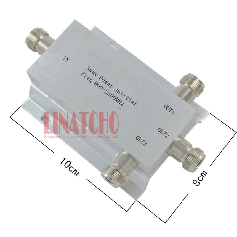 Тросмерни нф рф разделник снаге разделник снаге 800-2500МХз сигнал појачивач појачивач раздјелник антене