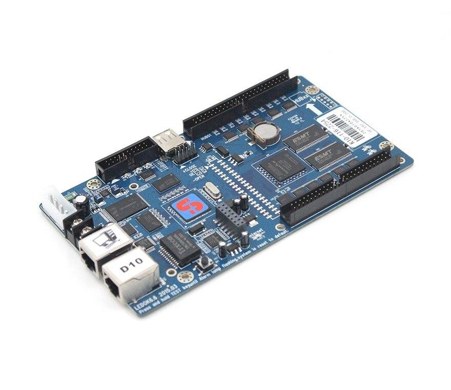 Rgb светодио дный LED управление карты xixun k10 плата для управления по Wi Fi асинхронный полный цвет отправки светодио дный экран видеостена беспр