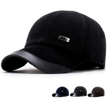 Ифэй Тенты Шапки для Для мужчин зима весна Trucker Повседневное Кепки Snapback защитить уши Для мужчин шляпа Новая мода Для мужчин Бейсбол Кепки
